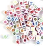 CF156 Beads: Alphabet: Assorted
